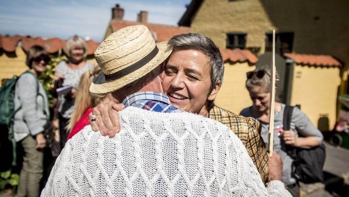 S-profil toner rent flag: Foretrækker Margrethe Vestager frem for socialdemokrat