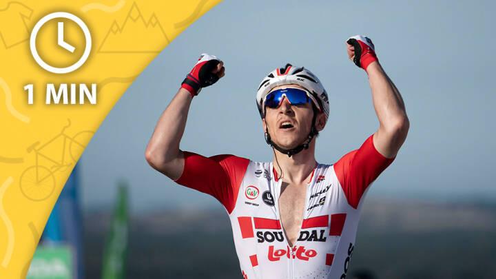 ETAPEN PÅ 1 MINUT Belgier snupper fjerde etape - Niklas Larsen stadig i førertrøje