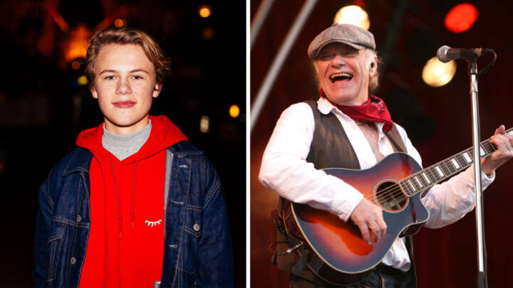 For et år siden sang 14-årige Alfred til rørende mindekoncert: 'Kim Larsen har ændret mit liv'