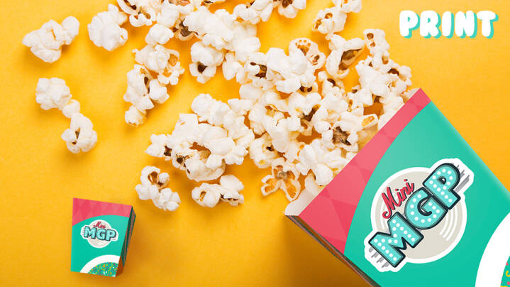 Popcorn til dig og din rulling