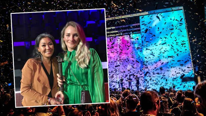 Sofie gav danske musikere klima-opsang til stort prisshow: 'Kan I ikke finde på noget bedre?'