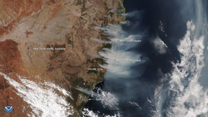 australien brand kort