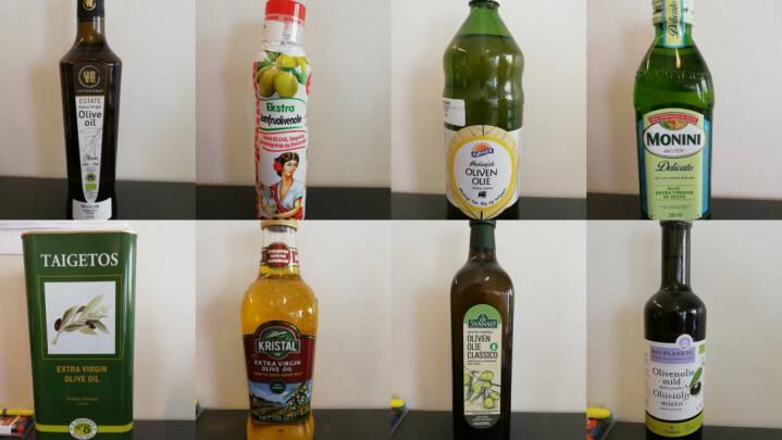 Se listen: Otte ud af ni olivenolier dumper i test