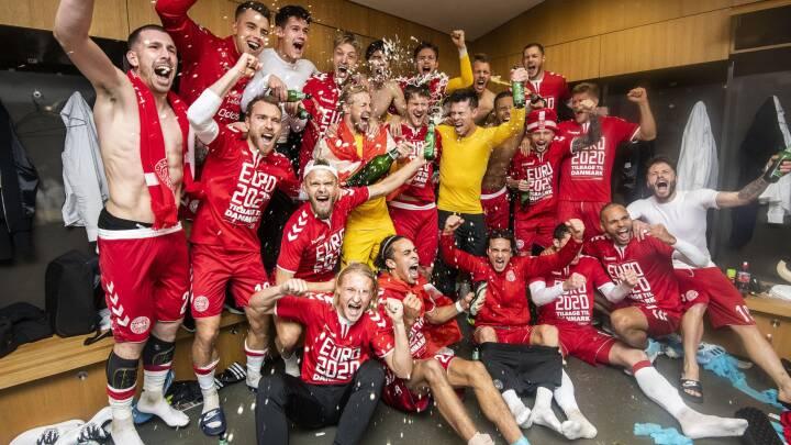 Storskærmsvisning ved EM i fodbold 2021