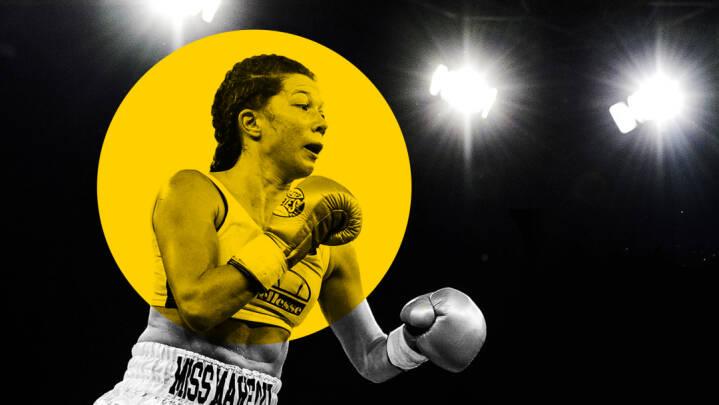 Sygeplejerske, 'Vild med Dans'-vinder og benhård fighter: I aften kan Sarah Mahfoud blive verdensmester
