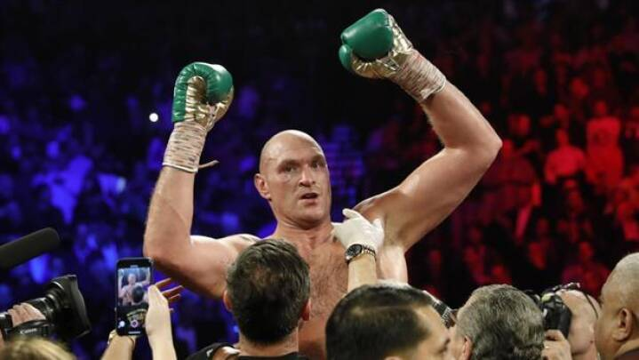 'Gypsy King' er ny verdensmester i sværvægt: Tyson Fury stopper Wilder