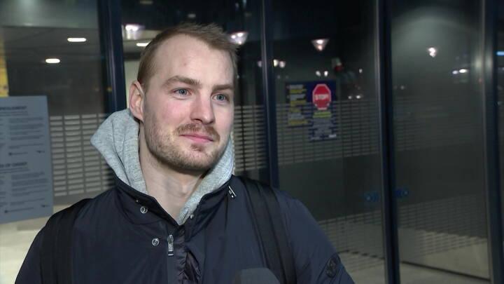 Ishockeystjerne er vendt hjem: 'Måske har vi allerede sommerferie'