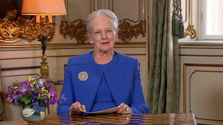Dronning Margrethe i tale til nationen: 'Min fødselsdag blev ikke, som jeg havde forestillet mig'