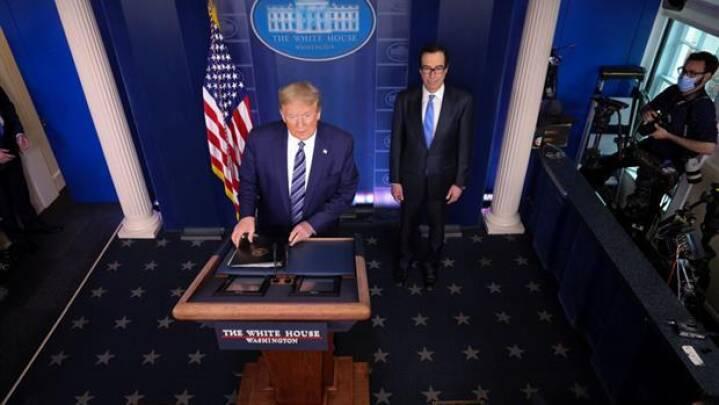Efter meldinger om dårligt helbred: Trump ønsker Kim Jong-un alt vel