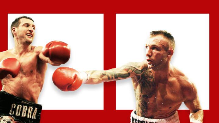 For ti år siden gik Kessler i ringen mod en ond kappeklædt brite for at bevise, at han 'ikke var færdig'