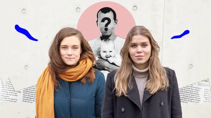 Anna Petra og Julie kender ikke deres biologiske far: 'Jeg er glad for, jeg ikke ved, hvem han er'