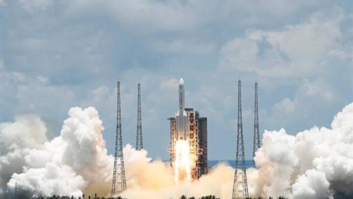 Kapløb med USA: Kina affyrer Mars-sonde med succes