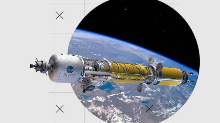 I dag tager turen syv måneder: Gamle atomraketter kan gøre Mars-rejse til smuttur