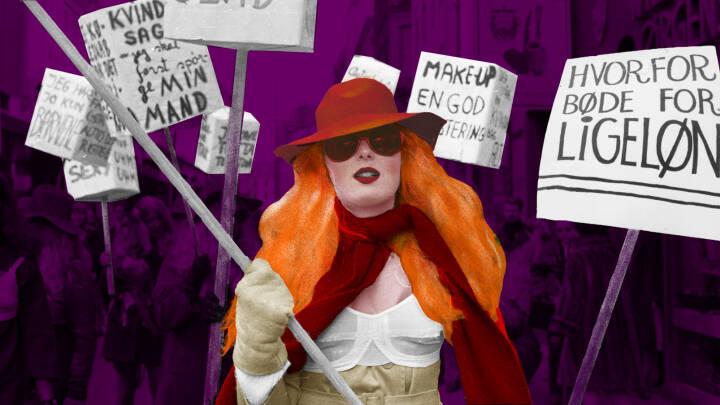 De satte ild i kønskampen: Rødstrømperne fylder 50 år