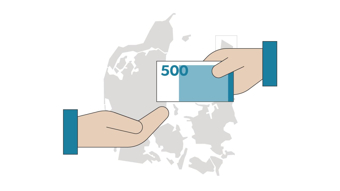 Se om din kommune får støtte: Lolland får 81 mio. kroner
