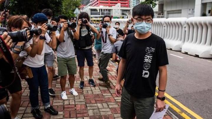 Hongkong-aktivist risikerer seks års fængsel