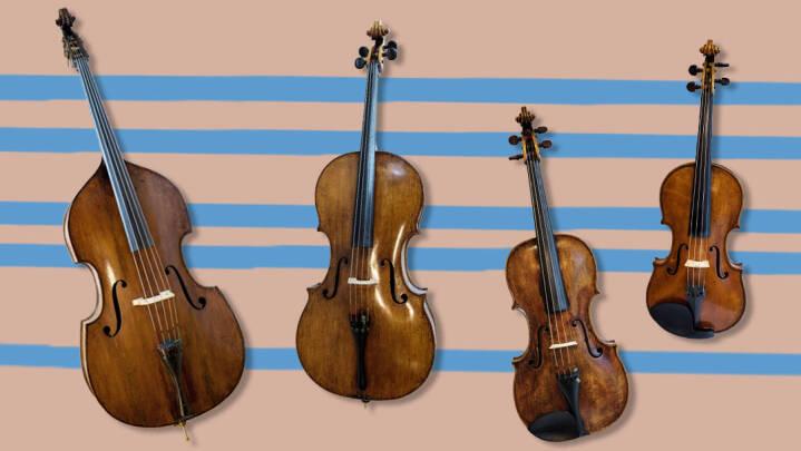 Symfoniorkestrets instrumentfamilier