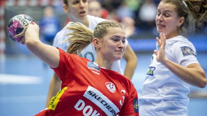 Team Esbjerg går i stå og smider sejr i Champions League