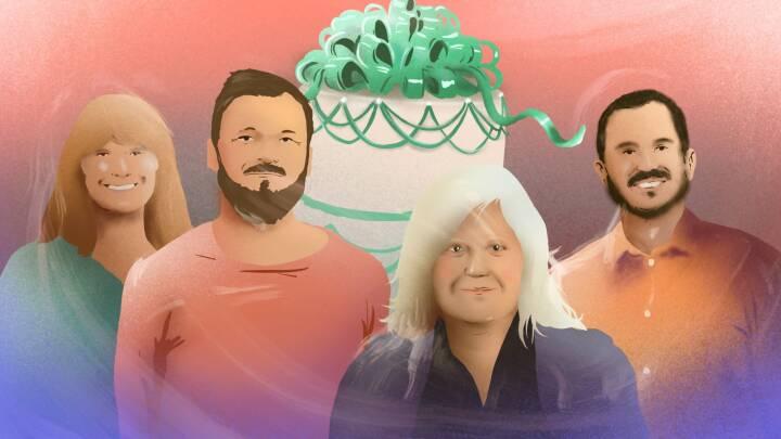 Har skabt mere end 1.000 helt perfekte kager: De er 'Bagedystens' hemmelige stjerner