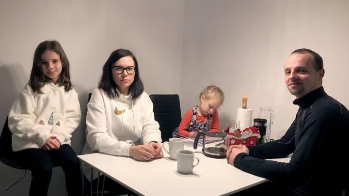 Familien Klymiuk står til at miste hjem, skole og job: Når minkene dør, forsvinder adgangskortet til Danmark