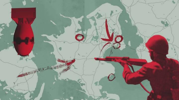 Se angrebet - trin for trin: Sådan skulle Danmark udslettes på 6 dage