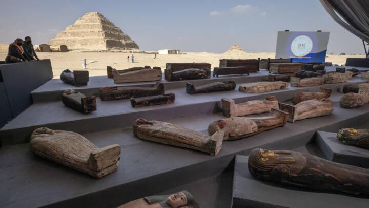 Kæmpegrav med 100 mumier fundet i Egypten: Det største fund i mange år