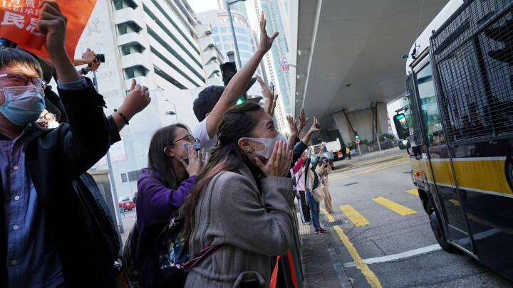 Dom over demokrati-ikonet Wong er et klart signal til Hongkongs aktivister