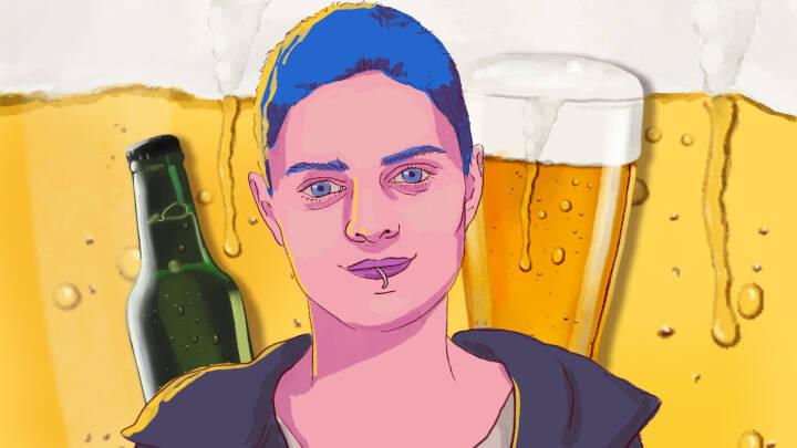 Har satset en million på sin idé: Amalie på 29 sælger 'jovial drik' til toprestauranter