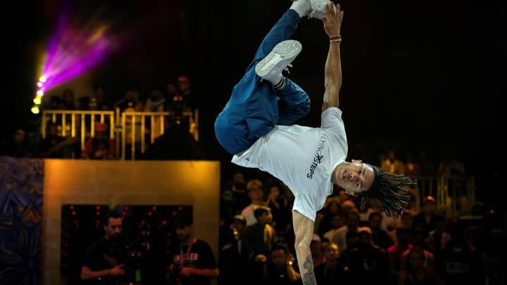 Headspin, Airflare & Baby Swipe: Breakdance sender nye 'moves' på OL-programmet