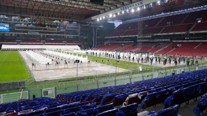 Danmarks største testcenter er åbnet i Parken: Skal teste 1.200 i timen