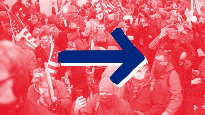 Tidslinje: Fra valgdag til storm på Kongressen til ny præsident