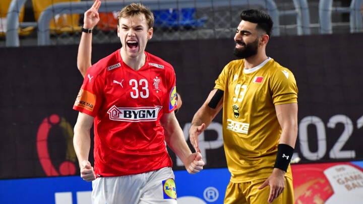 MINUT FOR MINUT Danmark storsejrer i VM-åbningskamp mod Bahrain