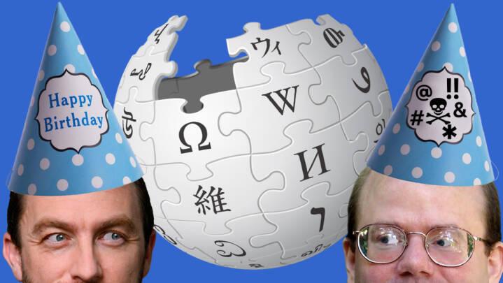 Farvel til teenageren Wikipedia. Her er 10 ting, du måske ikke vidste om 20-års fødselaren