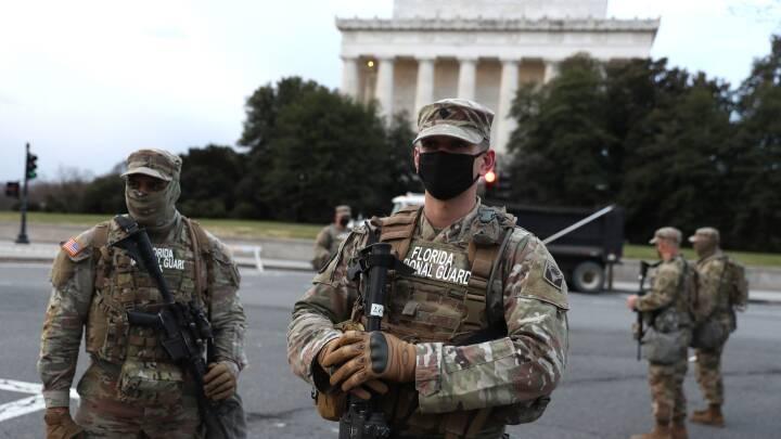 SE BILLEDERNE: USA forbereder sig på en præsidentindsættelse, som ikke ligner noget, man har set før
