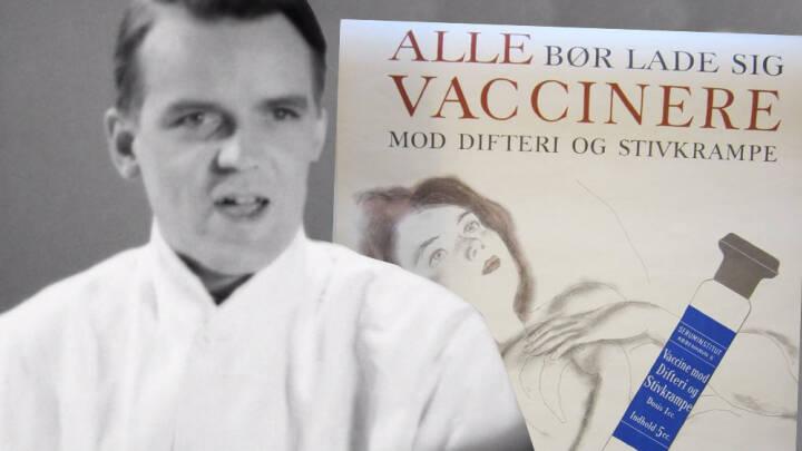 Voldsom epidemi hærgede i 1940'erne: Unik vaccine-film opfordrede til at blive vaccineret