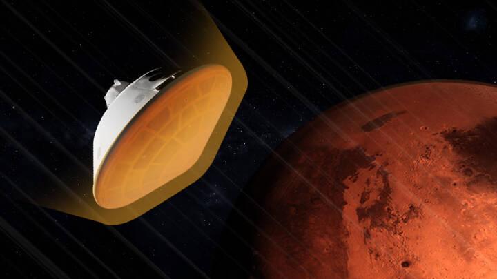 Syv rædselsfulde minutter afgør alt: Sådan foregår voldsom Mars-landing i aften