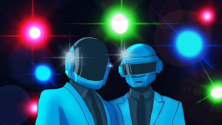 Pludseligt farvel efterlader musikverdenen i chok: Sådan blev Daft Punk 'evige legender'