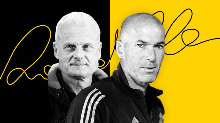 Jens fik Zidane til at gå ind i bussen efter Ronaldos autograf: I aften mødes de to venner igen