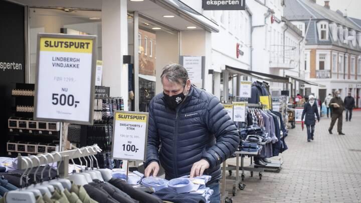 Butiksåbning bekymrer coronaforskere: 'Jeg ville vælge med omhu, hvor det er nødvendigt at shoppe fysisk'