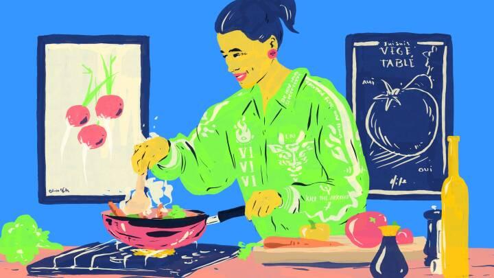 Løsningen er i dit køkken! Her er stjernekokkenes tricks til at stresse af