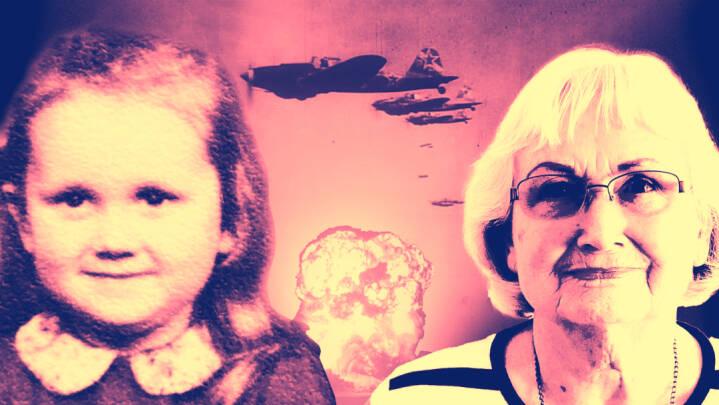 Mens det meste af Danmark jublede, blev 6-årige Annis familie dræbt i et luftangreb på Bornholm