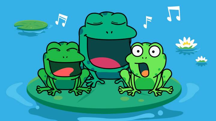 Redder Frøerne sangtekst