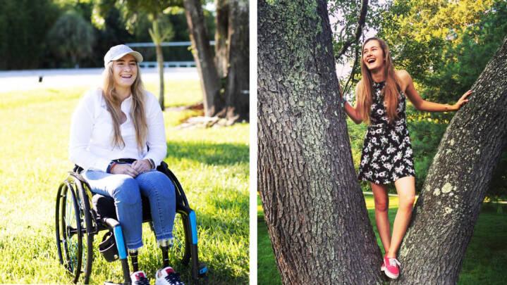Beatrice føler sig heldig, selvom hun fik sprængt begge ben af i et terrorangreb