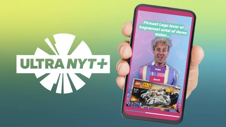 Få Ultra Nyt+ på din telefon eller tablet: Download appen i App Store og Google Play