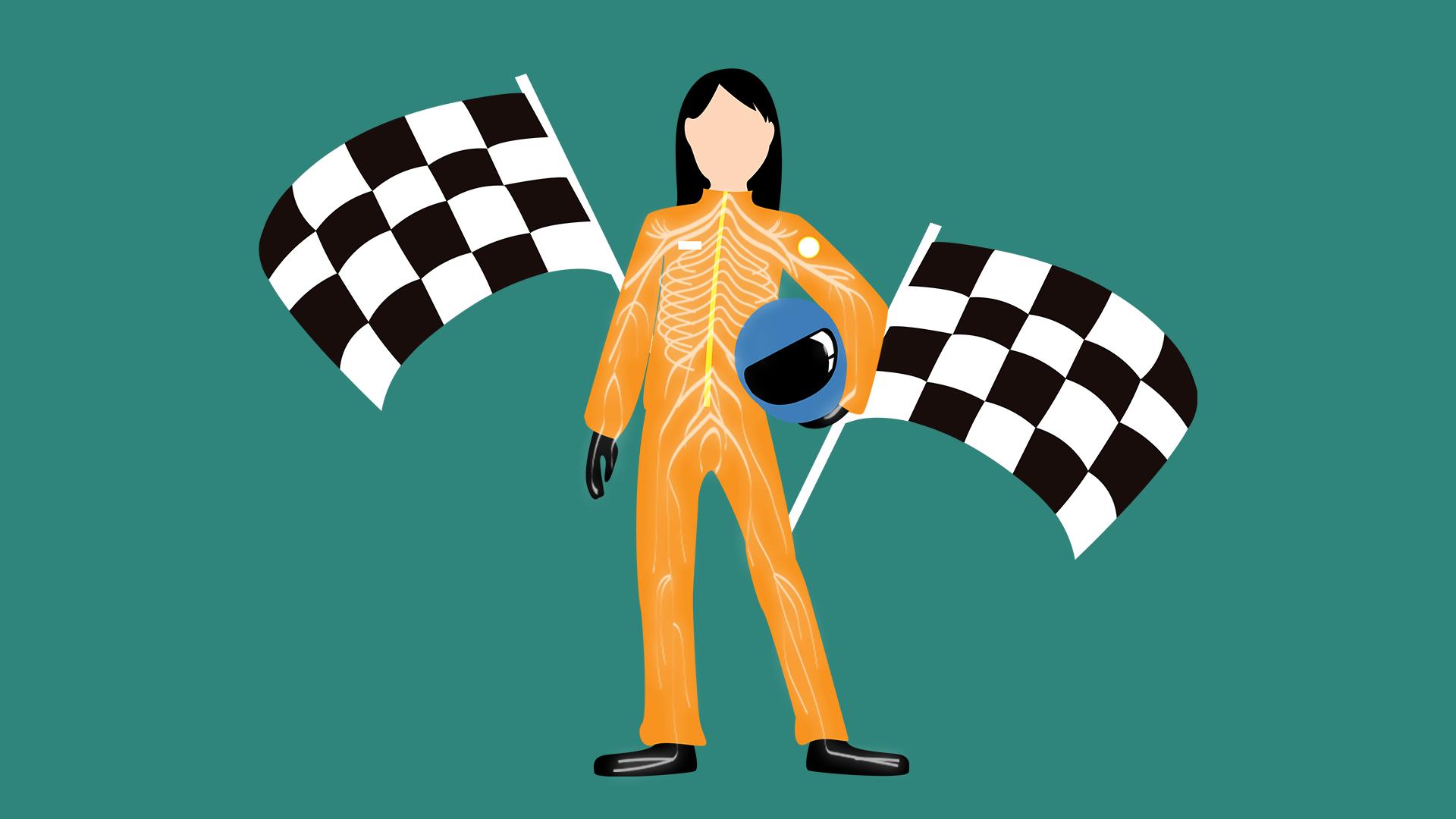 Racerløb og nervesystemet