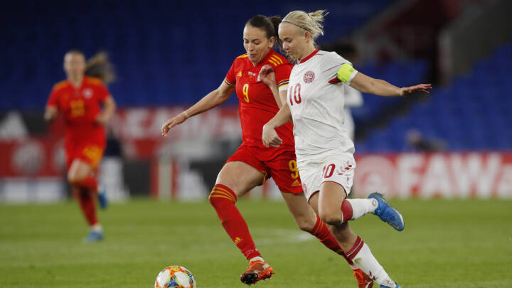 MINUT FOR MINUT Harders scoring ikke nok for Danmark, der spiller 1-1 med Wales