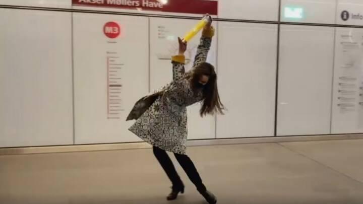 Et særsyn i metroen: Spanske trin bringer depechen til Frederiksberg