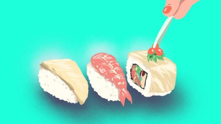 'Det kan være virkelig lækkert': Genopfind din sushi med genialt trick