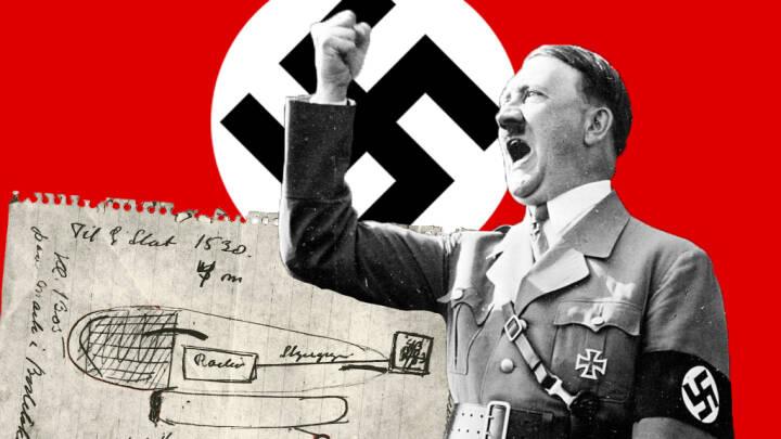 Vidste du, at en ekstremt avanceret førerløs nazi-bombe styrtede ned på Bornholm under krigen?