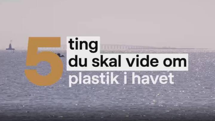 5 ting du skal vide om plastik i havet